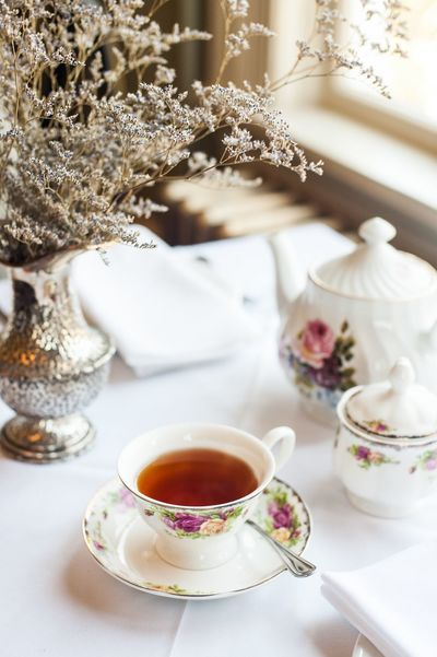 Tea time at Pendray Inn & Tea House