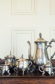 Traditional British Tea Set