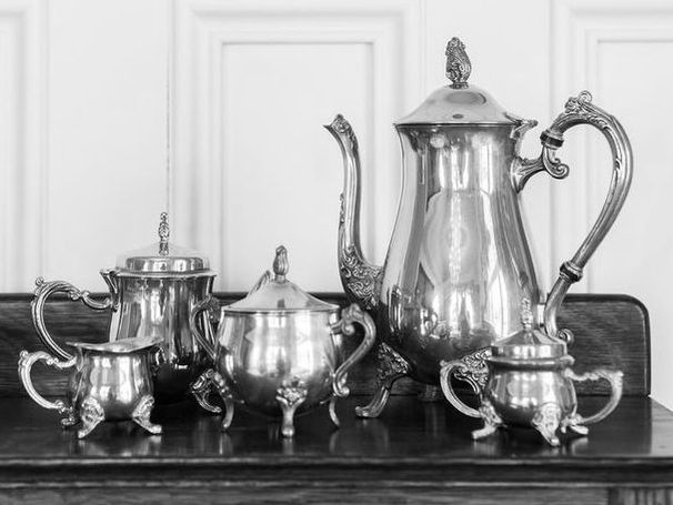 A Traditional English Tea Set